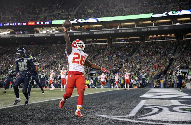 Chiefs Sign Rb Damien Williams To Two Year Extension