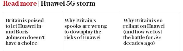 Read more | Huawei 5G storm