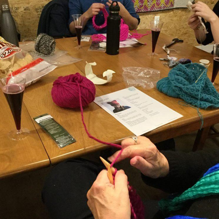 Women across the country are knitting
