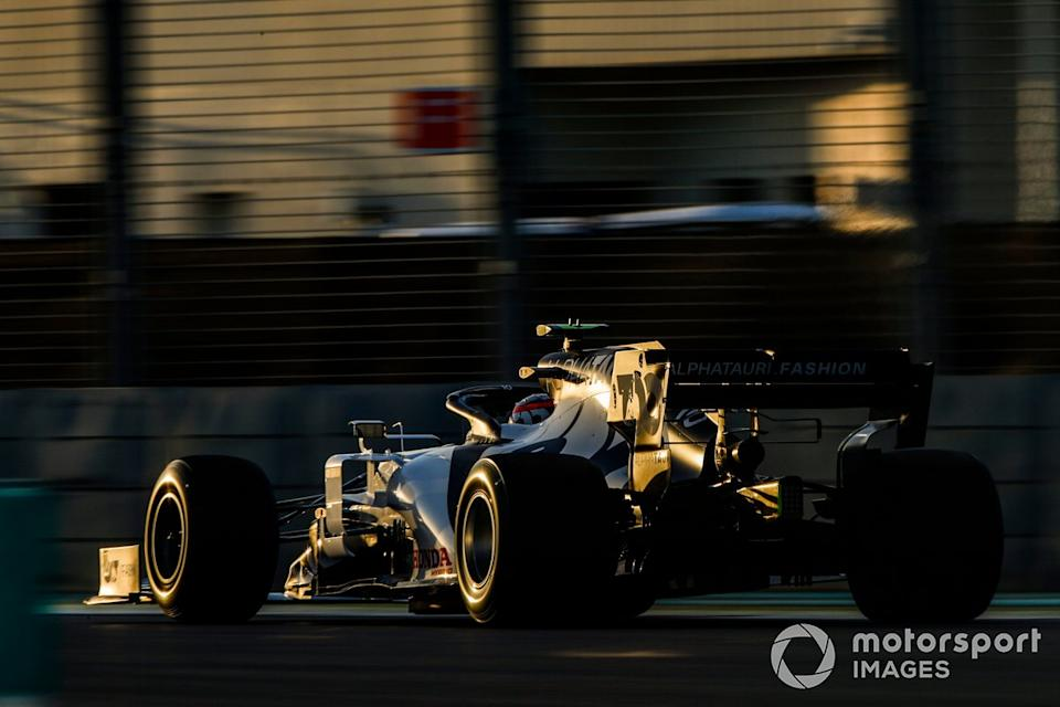 """Pierre Gasly, AlphaTauri AT01<span class=""""copyright"""">Zak Mauger / Motorsport Images</span>"""