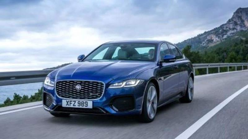 Ahead of launch, India-bound Jaguar XF (facelift) revealed