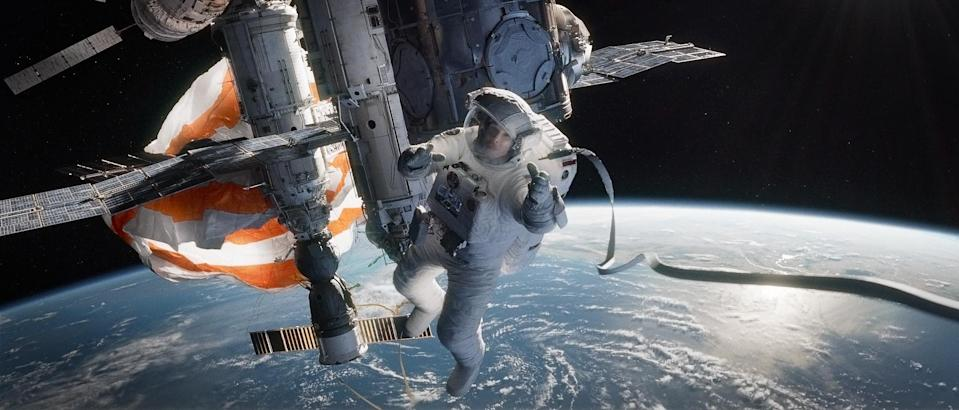 THE THIRD FLOOR has visualized cinematic scenes for space-themed motion pictures from Gravity to The Martian. Pictured: Gravity – publicity frame from the final film. Image credit: Warner Bros.