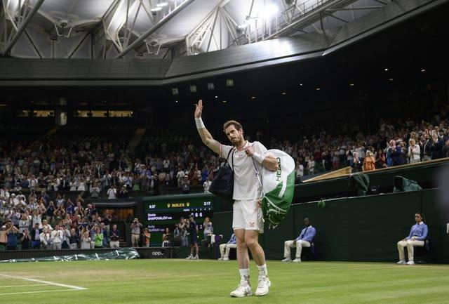 Andy Murray waved goodbye to Wimbledon, but was it for good?