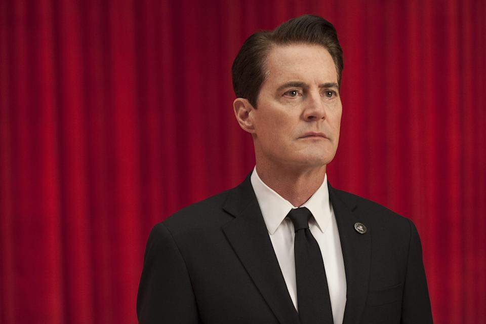 """Kyle MacLachlan reprised his role as FBI agent Dale Cooper in Showtime's 2017 revival of """"Twin Peaks."""""""