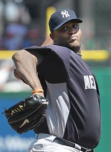 CC Sabathia draws the opening day start for the Yankees, who host the Tigers