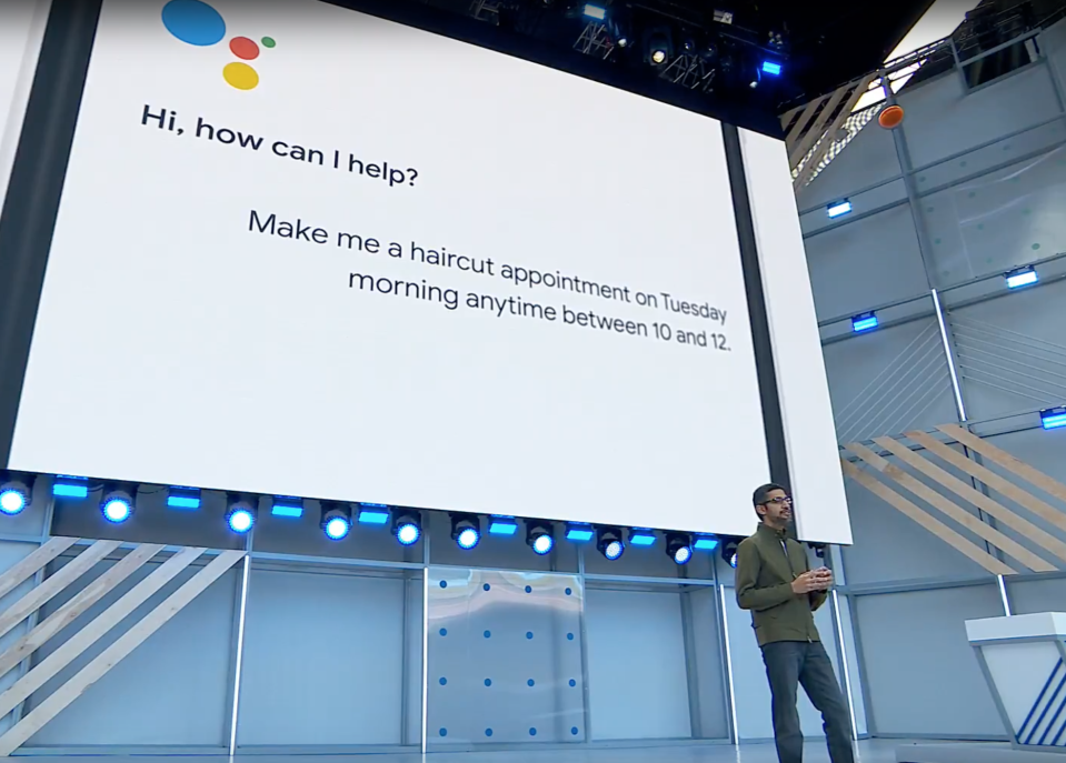 Google's Assistant will soon be able to make phone calls for you.