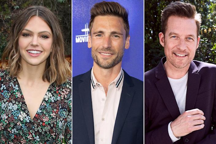 """<p><strong>Premieres: </strong>Nov. 13 at 8 p.m. ET/PT, Hallmark Channel</p> <p><strong>Stars: </strong>Aimee Teegarden, Andrew Walker, James Tupper</p> <p><strong>Contains:</strong> DNA-fueled intrigue, new family members</p> <p><strong>Official description: """"</strong>When Vanessa receives the results from her Family Tree DNA test, she discovers a family she didn't know existed and travels to their home for Christmas.""""</p>"""