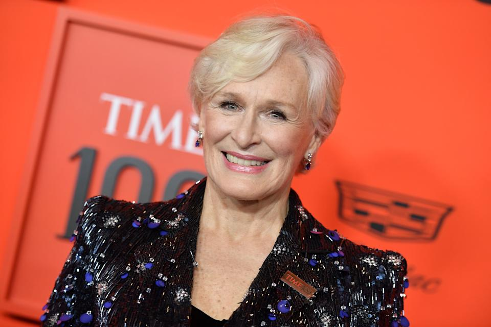 Glenn Close attends the Time 100 Gala on April 23 at Lincoln Center in New York City. (Photo: ANGELA WEISS/AFP/Getty Images)
