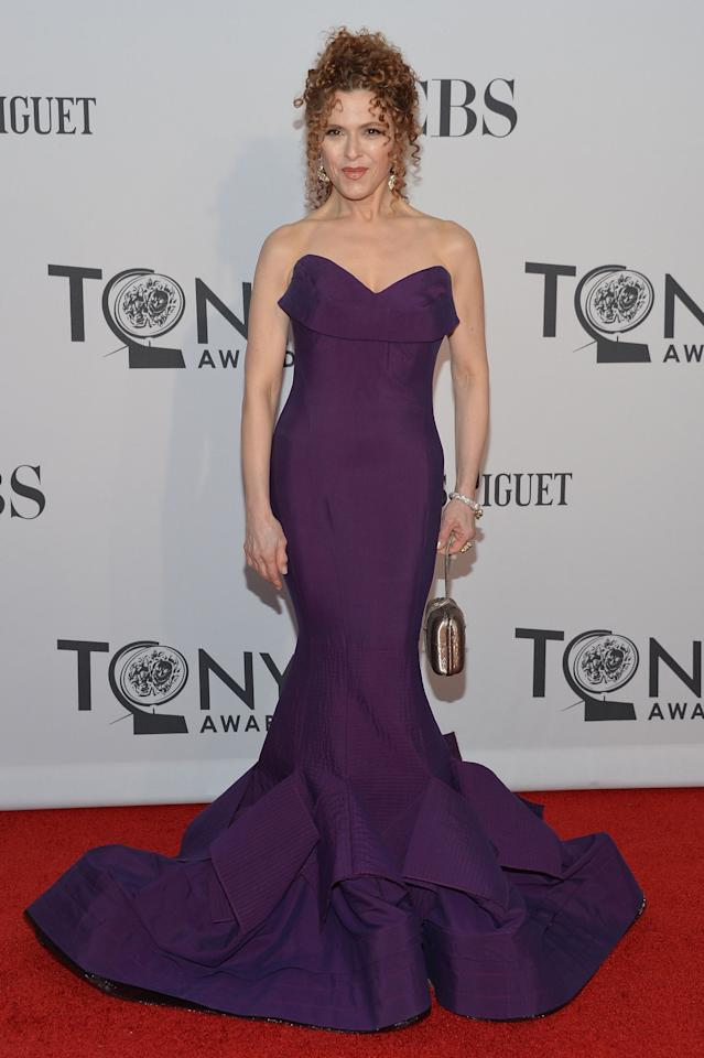 NEW YORK, NY - JUNE 10:  Bernadette Peters attends the 66th Annual Tony Awards at The Beacon Theatre on June 10, 2012 in New York City.  (Photo by Mike Coppola/Getty Images)