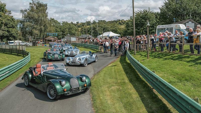 Morgan Plus Six Prescott Hill Climb 2019