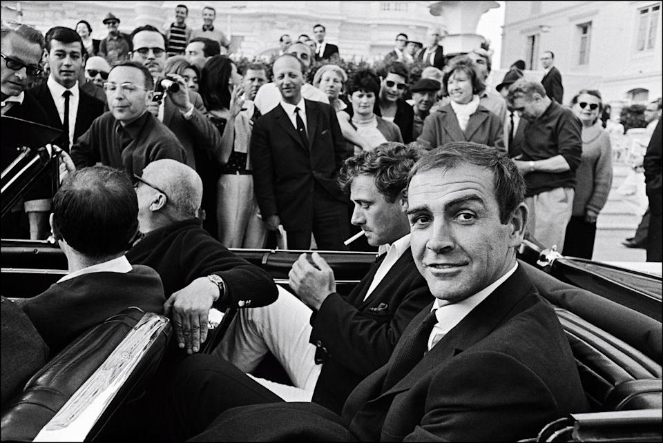 <p>Connery at the Cannes Film festival on May 24, 1965. </p>