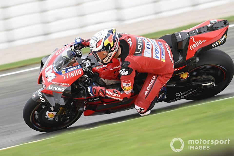 """P12 Andrea Dovizioso, Ducati Team<span class=""""copyright"""">Gold and Goose / Motorsport Images</span>"""