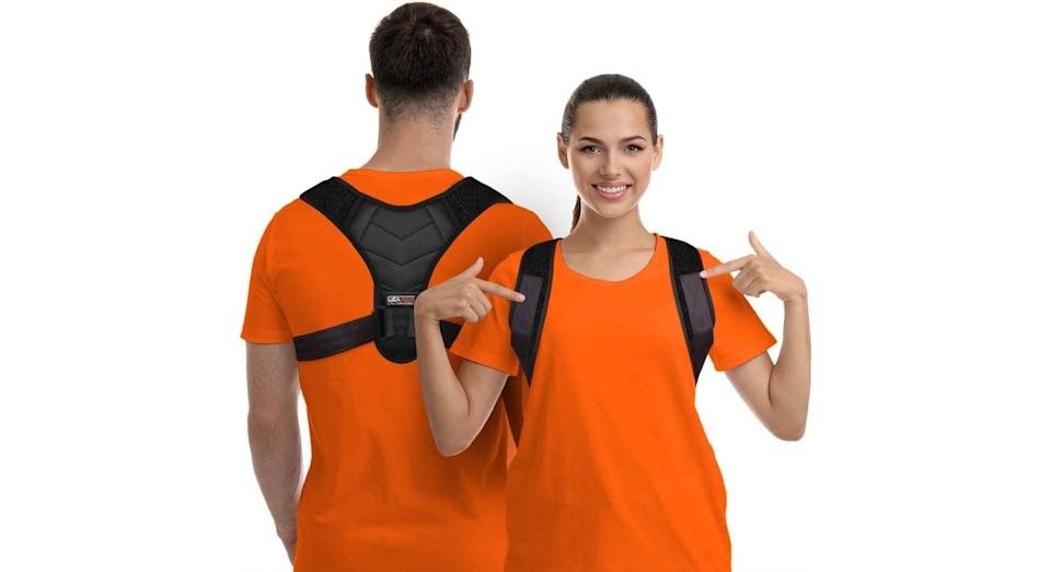 Posture Corrector for Men and Women for Clavicle Support by Gearari