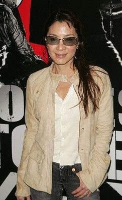 "Premiere: <a href=""/movie/contributor/1800026424"">Michelle Yeoh</a> at the New York City premiere of Paramount Classics' <a href=""/movie/1809785174/info"">Shine a Light</a> – 03/30/2008<br>Photo: <a href=""http://www.wireimage.com/"">Jim Spellman, WireImage.com</a>"