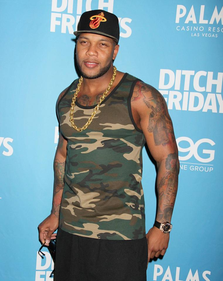 Flo Rida attends 'Ditch Friday' at the Palms Pool and Bungalows Las Vegas, Nevada - 04.05.12 Mandatory Credit: DJDM/WENN.com