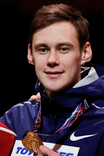 Russian high-jumper Danil Lysenko has been provisionally suspended