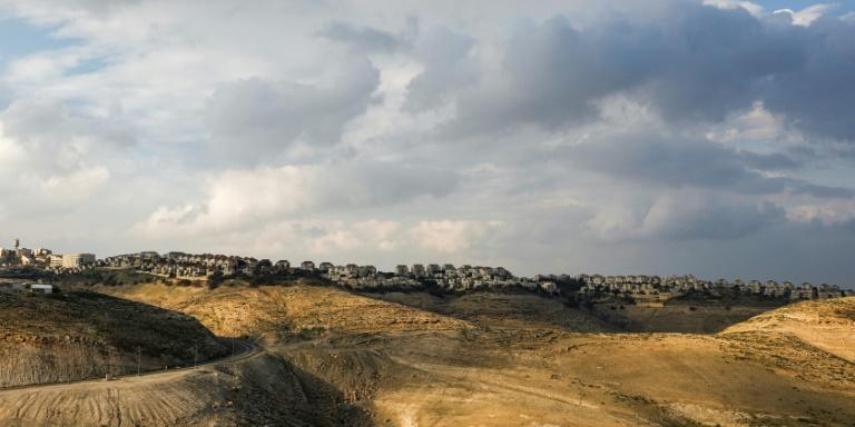 The hilltop settlement of Maale Adumim, Israel's largest in the occupied West Bank (AFP Photo/MENAHEM KAHANA)