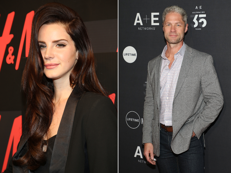 Lana Del Rey, left, is dating Sean Larkin, right. (Photos: Getty Images)