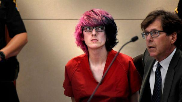 PHOTO: Devon Erickson appears in court at the Douglas County Courthouse in Castle Rock, Colo., May 15, 2019. (Joe Amon/The Denver Post via AP, FILE)