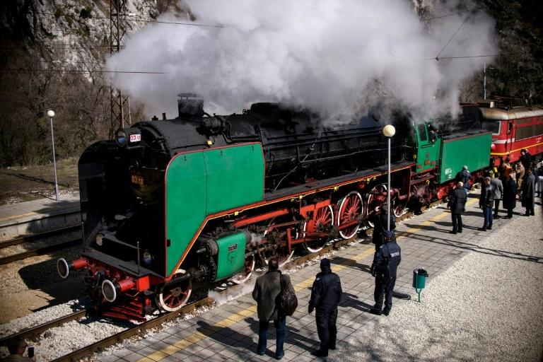 Trips by steam train have proved a big money spinner for endebted Bulgarian State Railways