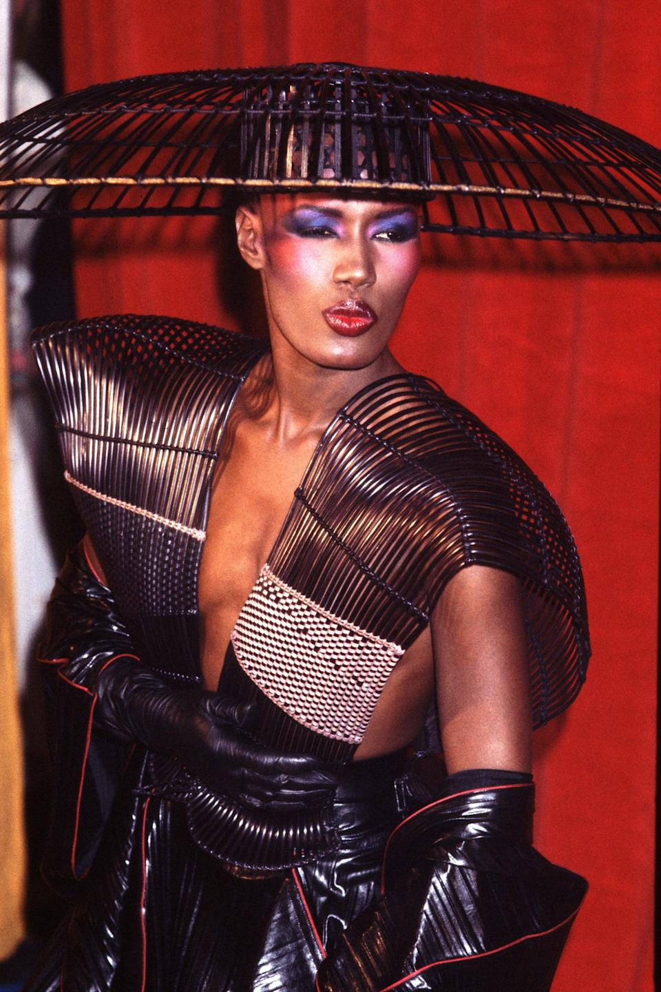 """<h2>Grace Jones, 1983</h2><br>No one out-styles Grace Jones. No one. <span class=""""copyright"""">Photo: Chris Walter/WireImage.</span>"""