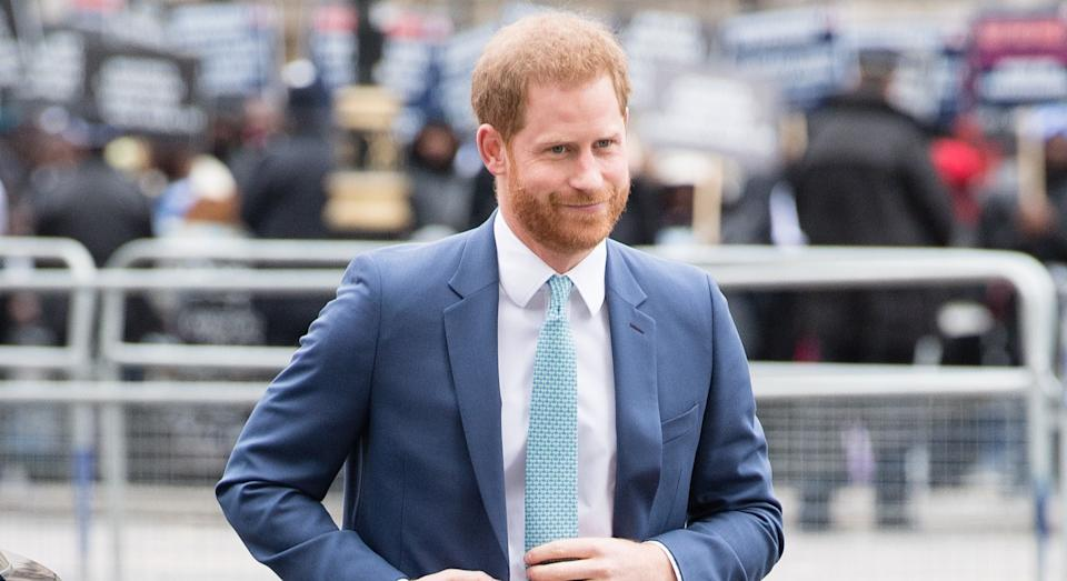 The Duke of Sussex has released a video from his Los Angeles home (Getty Images)
