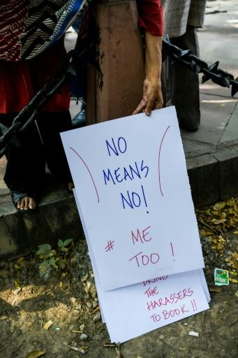 In Bollywood, women championing the #MeToo movement have faced a backlash,�campaigners say