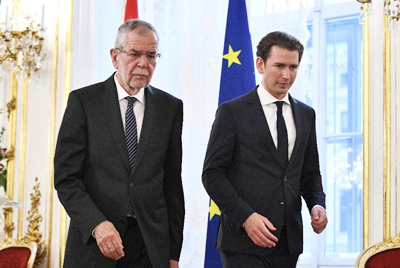 Austrian President Alexander Van der Bellen and Austrian Chancellor Sebastian Kurz have called on Germany to explain new allegations of spying by the German secret service BND