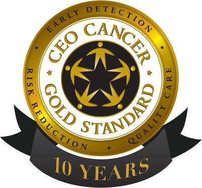 CEO Cancer Gold Standard 10-Year Employers Recognized
