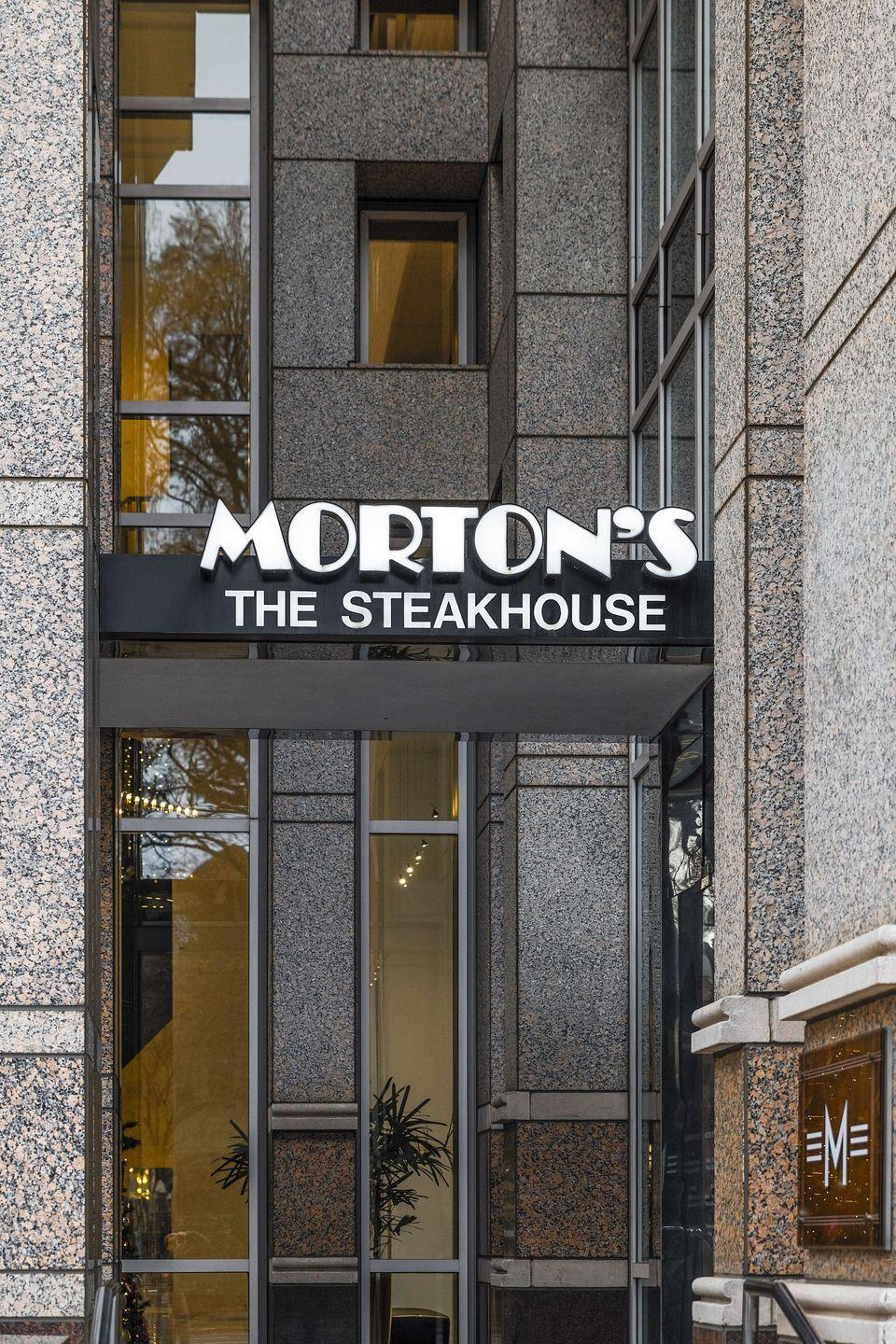 "<p>Not only is Morton's Steakhouse <a href=""http://www.mortons.com/holiday/"" rel=""nofollow noopener"" target=""_blank"" data-ylk=""slk:open"" class=""link rapid-noclick-resp"">open</a> on Christmas Day, but the restaurant encourages families to make a holiday tradition of celebrating at one of their locations — just make sure you have reservations, since seating will be limited due to limited capacity from COVID-19 restriction. And, if you want to stay in this holiday season, you can even order to-go ahead of time so you can have a delicious Christmas meal without spending the entire day slaving away in the kitchen.</p>"