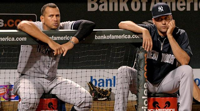"<p>Former New York Yankees third baseman Alex Rodriguez did not say whether or not he invited to Derek Jeter's jersey retirement ceremony on Sunday afternoon at Yankee Stadium, <a href=""http://www.nydailynews.com/sports/baseball/yankees/alex-rodriguez-dances-derek-jeter-question-article-1.3174751?cid=bitly"" rel=""nofollow noopener"" target=""_blank"" data-ylk=""slk:according"" class=""link rapid-noclick-resp"">according</a> to Mike Mazzeo of the <em>New York Daily News</em>.</p><p>Rodriguez was asked: ""Did they ask you to come up or could you have come up?""</p><p>He replied: ""It was Mother's Day. I was with my mother.""</p><p>""It was Mother's Day. I watched the whole (ceremony). I put out a (social media) post,"" Rodriguez added, according to the Daily News. ""I especially liked seeing (his parents) Dr. (Charles) Jeter and Mrs. (Dorothy) Jeter, (his sister) Sharlee. It was a great day for him, and very well-deserved.""</p><p>Rodriguez was seen in Miami on Sunday morning celebrating Mother's Day with his mother. He was also spotted having dinner at Nobu in New York City with girlfriend Jennifer Lopez. His spokes man told the <em>Daily News</em> that ""I don't know if he was invited.""</p><p>• <strong><a href=""https://www.si.com/mlb/2017/05/10/face-every-mlb-franchise"" rel=""nofollow noopener"" target=""_blank"" data-ylk=""slk:So who's the face of every MLB franchise?"" class=""link rapid-noclick-resp"">So who's the face of every MLB franchise?</a></strong></p><p>A representative for Rodriguez told the media that Rodriguez arrived in New York after 6 p.m. Jeter's retirement ceremony started just before 7 p.m.</p><p>Jeter and Rodriguez recently sat alongside each other in an awkward interview with MSNBC. They were teammates for 10 years in New York City and had a strained relationship at times.</p><p>Rodriguez passed along his congratulations to Jeter on social media and with a video.</p>"