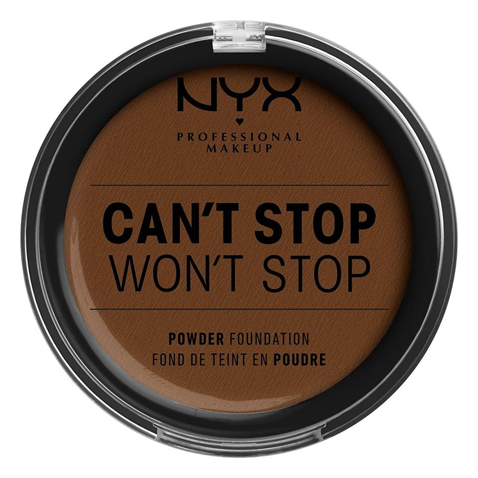 NYX Can't Stop Won't Stop Pressed Powder