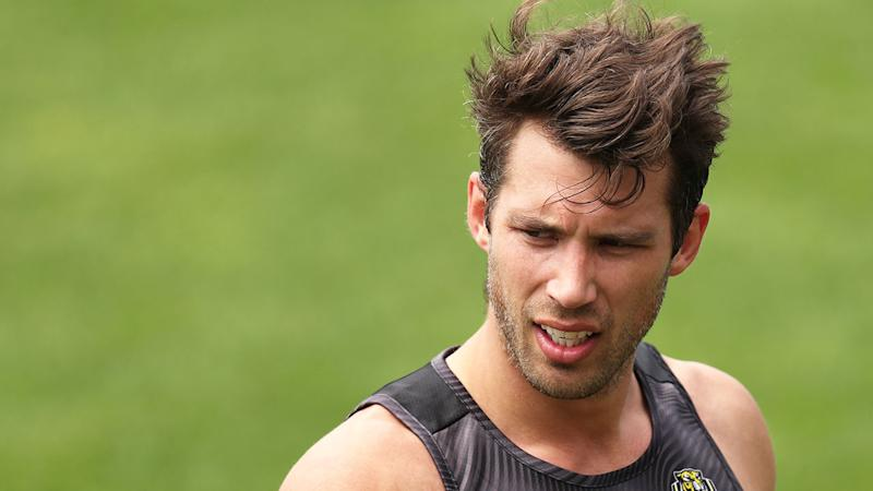 Seen here, Alex Rance announced his retirement after 200 AFL matches.