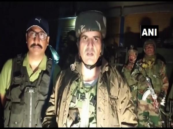 Ganderbal SP Khalil Poswal speaking to ANI on Tuesday. (Photo/ANI)