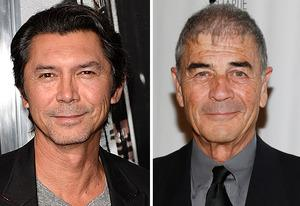 Lou Diamond Phillips, Robert Forster | Photo Credits: Jason Merritt/Getty Images; Imeh Akpanudosen/Getty Images