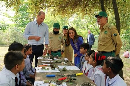 Britain's Prince William and Catherine, Duchess of Cambridge visit Pakistan