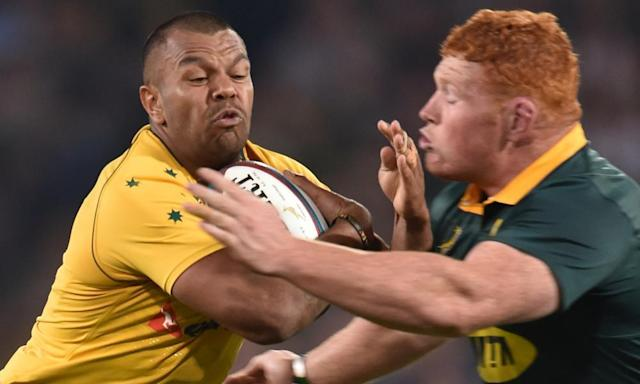 "<span class=""element-image__caption"">Kurtley Beale described the recent drawn game in South Africa as a 'dull feeling' and suggested rugby copy league and play extra time.</span> <span class=""element-image__credit"">Photograph: Gallo Images/Getty Images</span>"