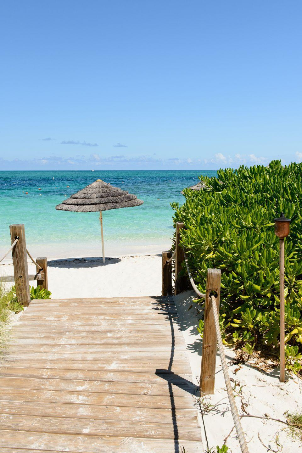 <p>With 12 miles of white sand beaches and the clearest water you'll likely ever encounter, there's no question why this beach on the north shore of the island of Providenciales made this list.</p>