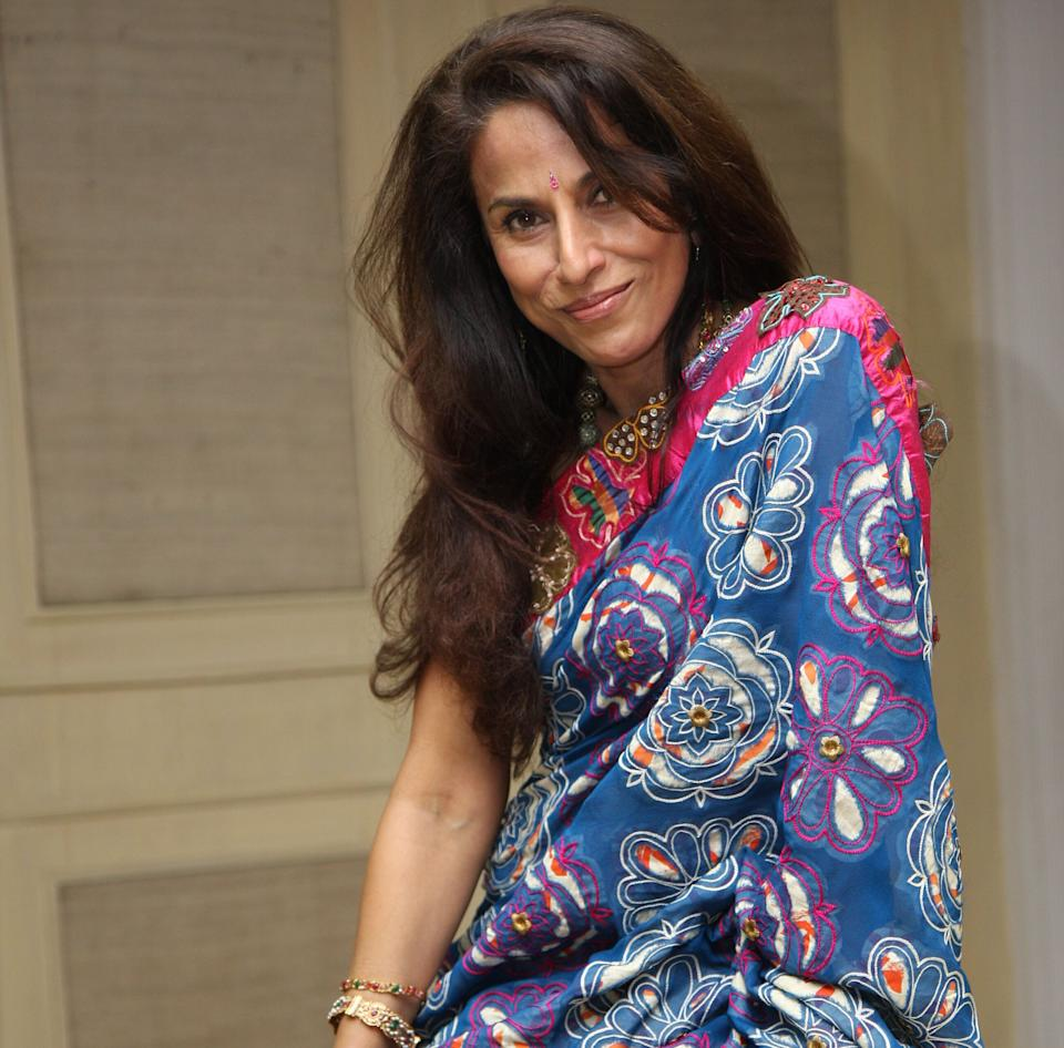 Shobhaa Dé, pictured here in 2008. 'Starry Nights', released in 1991, was her second novel. Photo by Jasjeet Plaha/Getty Images (Photo: Hindustan Times via Getty Images)