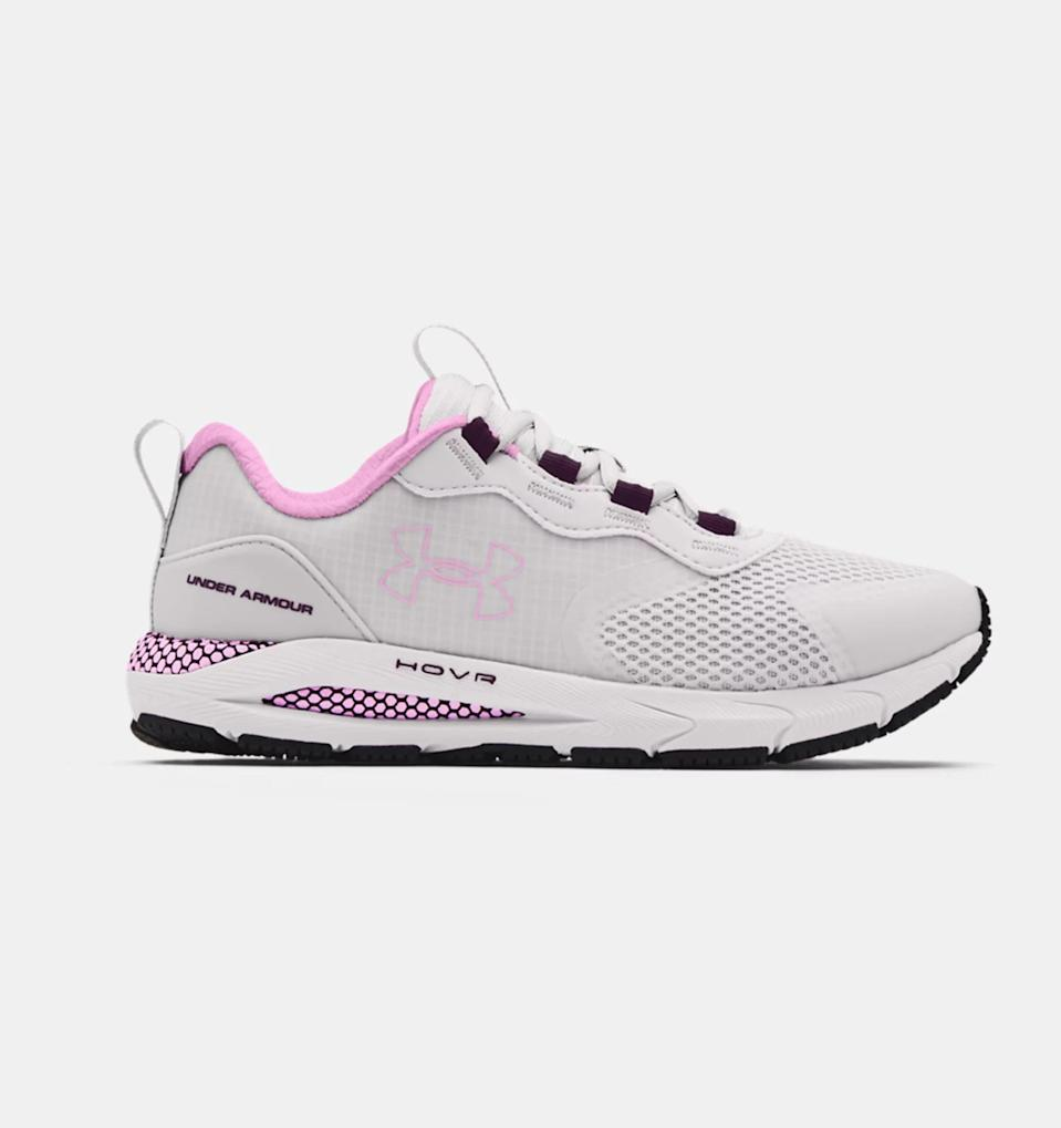<p>If you switch up your workouts the way most people change clothes, these <span>UA HOVR Sonic STRT Shoes</span> ($100) are the perfect fit. The UA HOVR cushioning and Energy Web mesh make for the ultimate combination of energy return and durability, no matter the level of exertion you put on your feet.</p>