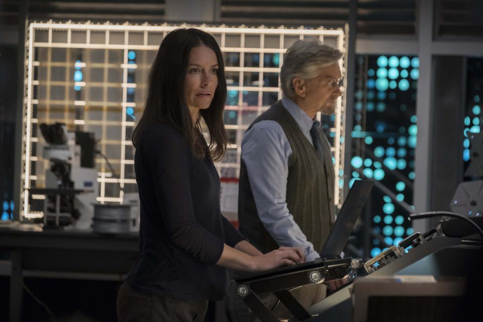 Evangeline Lilly says there was a conversation about whether to include the domestic violence in the original Ant-Man