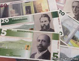 Some towns have their own currency