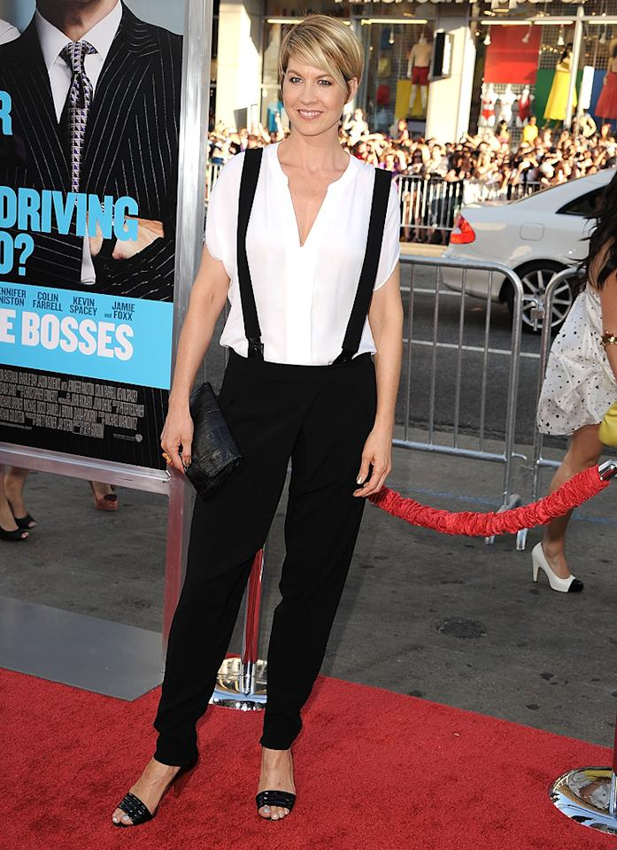 "<a href=""http://movies.yahoo.com/movie/contributor/1800018910"">Jenna Elfman</a> at the Los Angeles premiere of <a href=""http://movies.yahoo.com/movie/1810161382/info"">Horrible Bosses</a> on June 30, 2011."