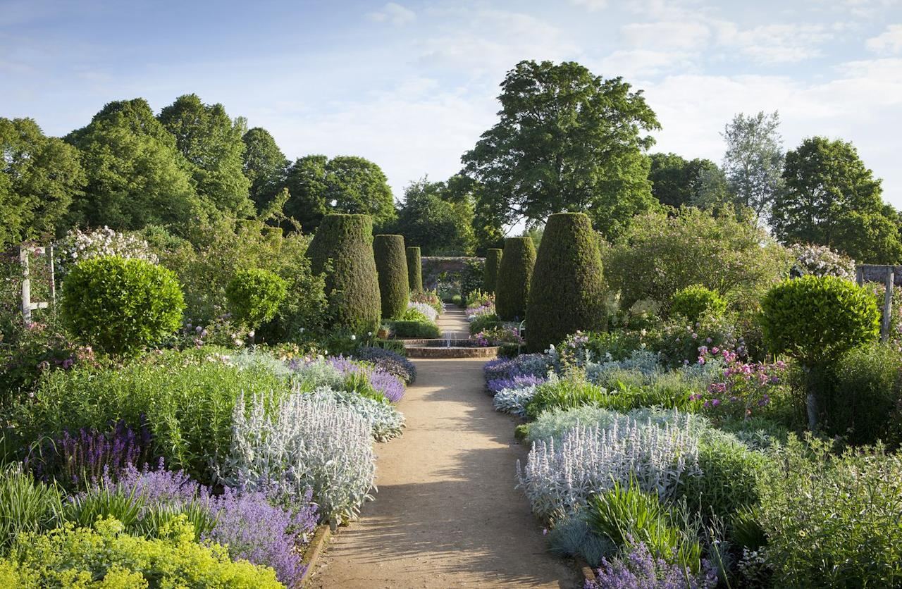 """<p>The gardens of this romantic 18th-century house boast carpets of spring bulbs, a beautiful walled rose garden, rich autumn leaves and a bright winter garden. <a href=""""https://go.redirectingat.com?id=127X1599956&url=https%3A%2F%2Fwww.nationaltrust.org.uk%2Fmottisfont&sref=https%3A%2F%2Fwww.countryliving.com%2Fuk%2Ftravel-ideas%2Fstaycation-uk%2Fg33803892%2Fuk-gardens%2F"""" target=""""_blank"""">Mottisfont</a> is a feast for the senses all year round and the world-famous collection of old-fashioned roses flowers once a year in June, making this a great time to visit. </p><p>A fantastic place for families, you'll find plenty of space to run and jump around. The herbaceous borders in the walled garden showcase a huge variety of flowering plants, while the wide, grassy lawns, and the tree-lined river walk provide plenty of shade on sunny days.</p><p><strong>How to visit</strong></p><p>Stay at a cosy home around a 10-minute drive away in a peacefully rural location, like this homely barn for four people near the town of Stockbridge. It's light, spacious and you can make use of the wood burner during the colder months.</p><p><a class=""""body-btn-link"""" href=""""https://go.redirectingat.com?id=127X1599956&url=https%3A%2F%2Fwww.homeaway.co.uk%2Fp8669007&sref=https%3A%2F%2Fwww.countryliving.com%2Fuk%2Ftravel-ideas%2Fstaycation-uk%2Fg33803892%2Fuk-gardens%2F"""" target=""""_blank"""">SEE INSIDE</a></p>"""
