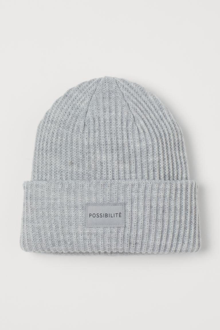 <p>This <span>H&amp;M Rib-knit Hat</span> ($10) is cozy and affordable.</p>