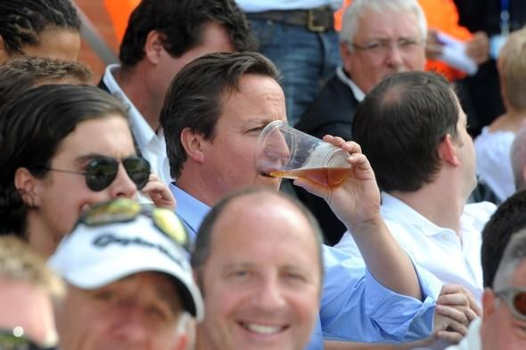 David Cameron heads off on fifth holiday this year (after watching the cricket)