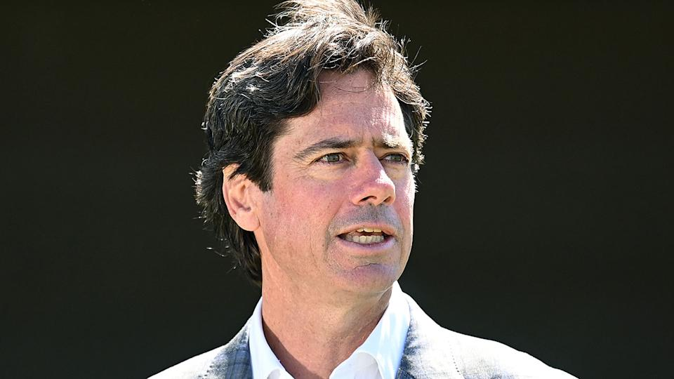 Pictured here, AFL CEO Gillon McLachlan.