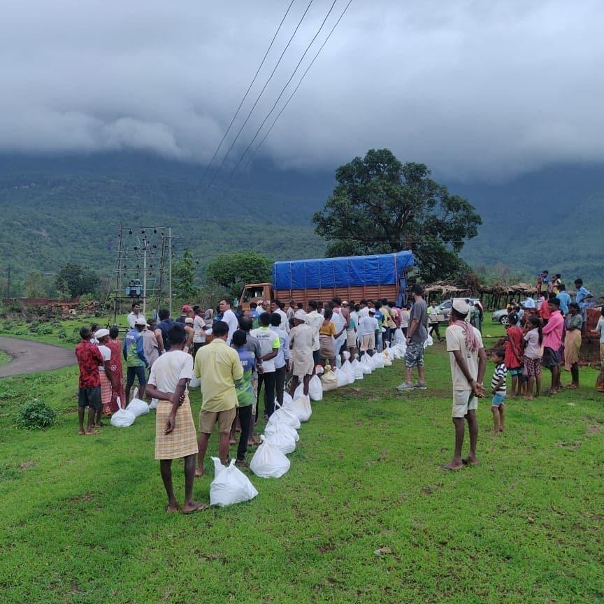 Khaana Chahiye sent aid to more than 1500 families in tribal pockets in these areas