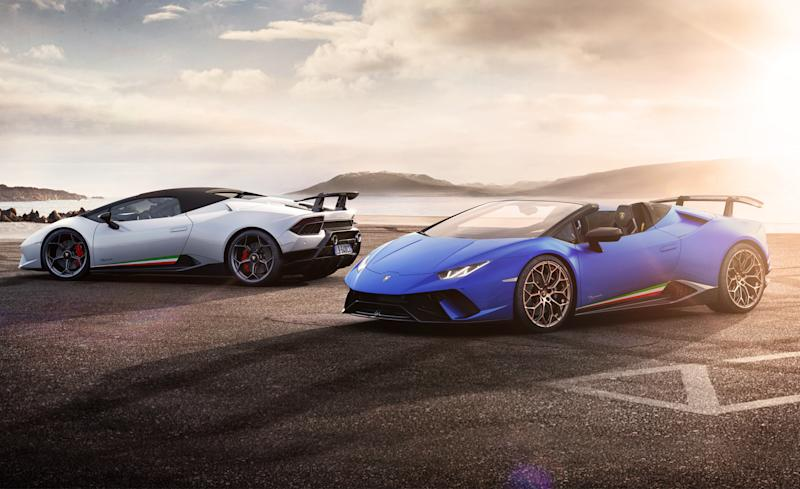 Lamborghini Huracan Performante Spyder The Category 5 Huracan Now