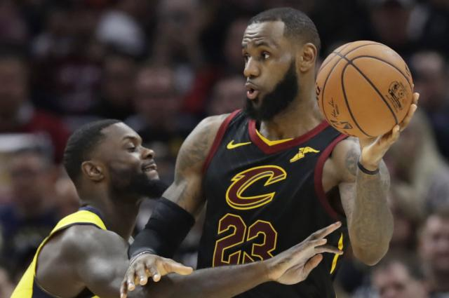 LeBron James, FBI role model. (Getty Images)